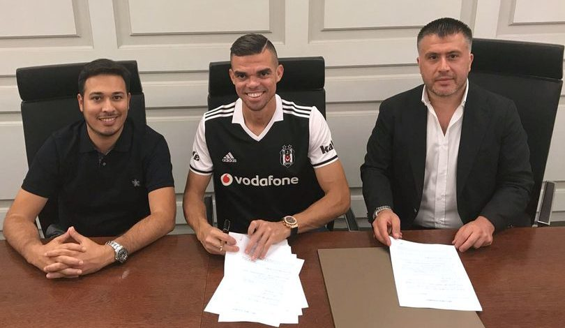Pepe confirms Besiktas move after leaving Real Madrid