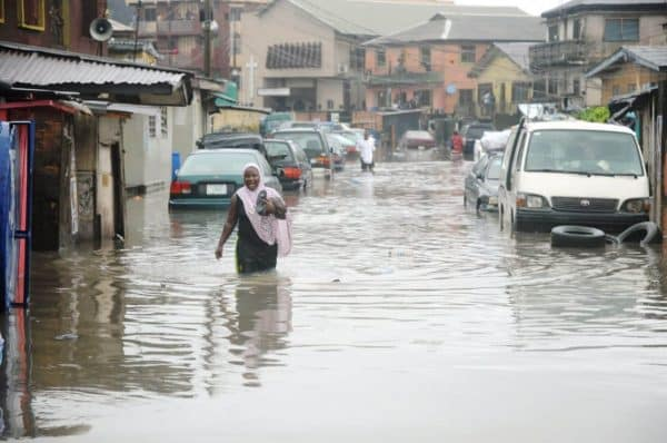 Image result for More than 400,000 persons affected by flood in 50 LGAs - NEMA