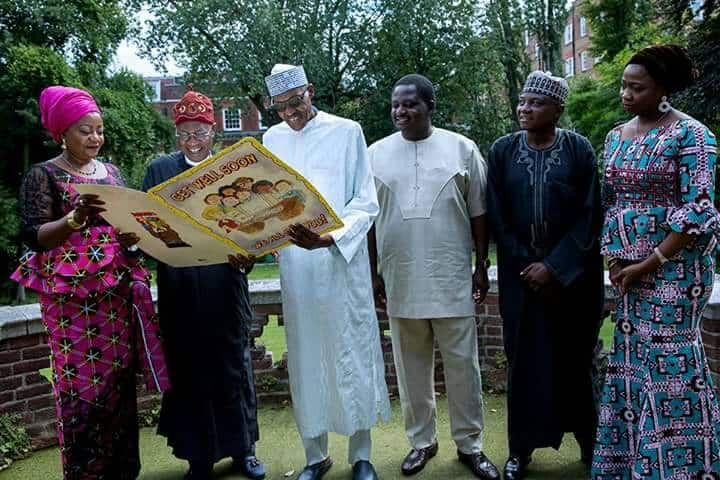 Buhari's return has nothing to do with London protest – Presidency