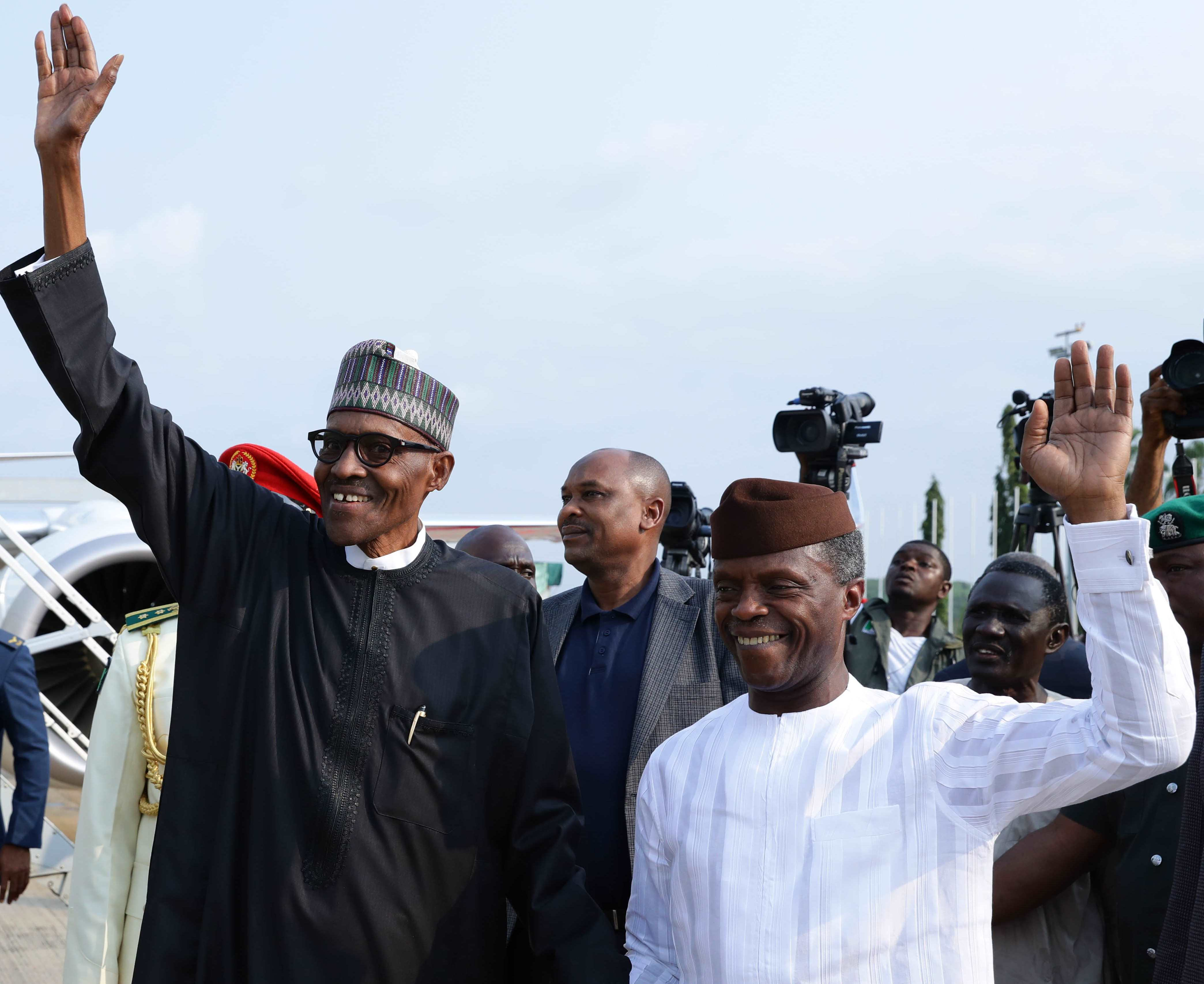 Buhari's recovery hope Nigeria will recover – Osinbajo