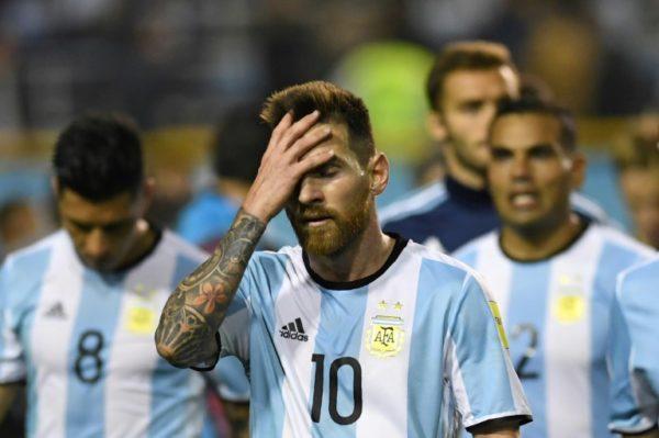 Messi and Argentine squad