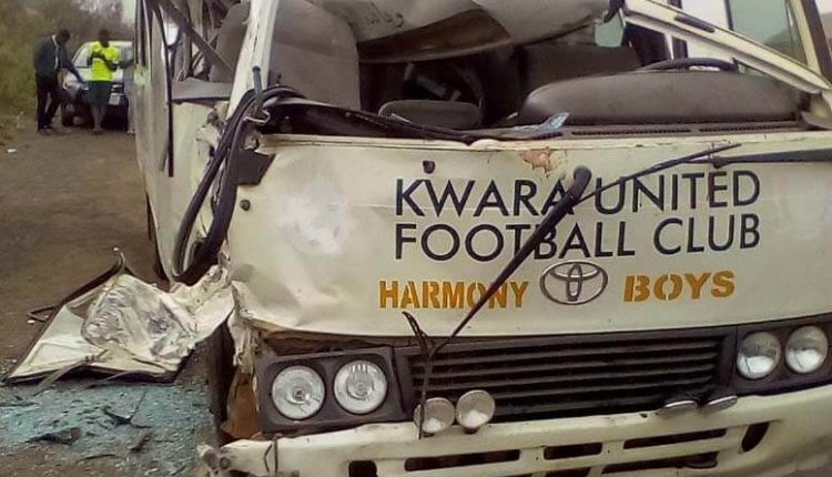 Image result for Kwara United Players In Auto Crash