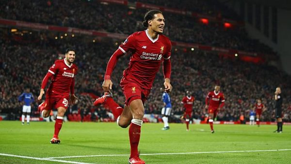 New signing Van Dijk's header wins it for Liverpool