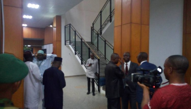 Image result for Fire Outbreak At National Assembly