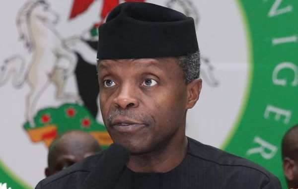Image result for Osinbajo: We'll stop importing rice by 2019