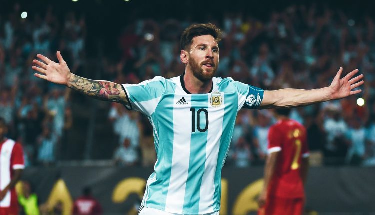 World Cup Lionel Messi carrying Argentinas weight of