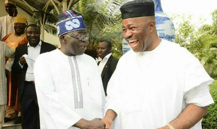 Image result for PDP mocks presidency, APC for wooing Akapabio, others