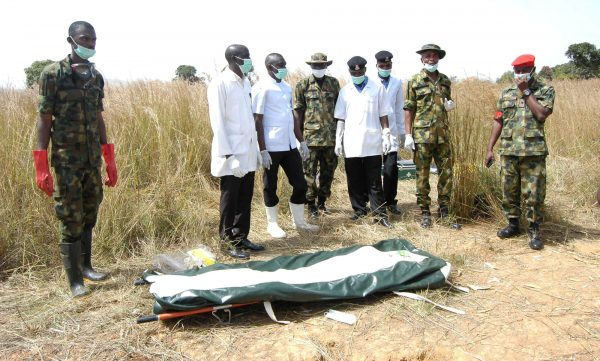 Photos as Nigerian Army discovers body of missing General in