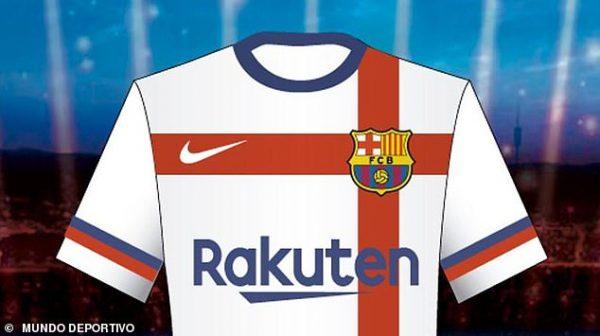 half off f9061 4f535 Barca reject Nike new away jersey