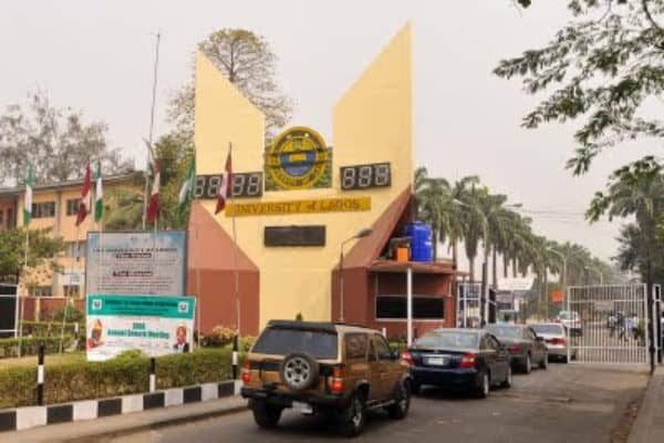 Main Entrance, University of Lagos (UNILAG). Photo: Eagle Online