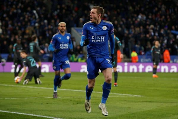 Leicester's Jamie Vardy to have hernia operation, says Rodgers
