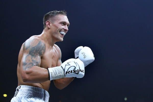 Usyk postpones heavyweight debut due to injury