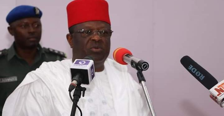 Umahi bars supporters from castigating National Assembly members, other non- defectors -
