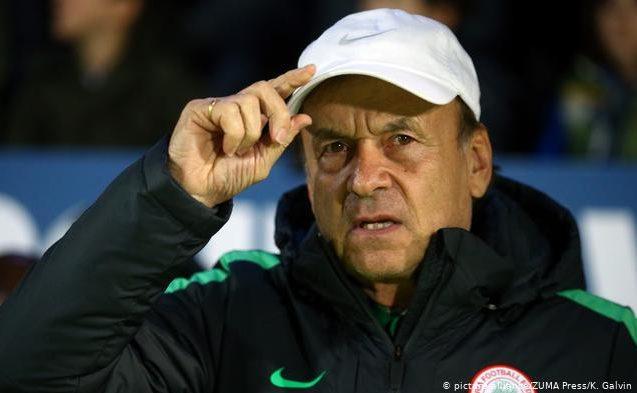 Nigeria renews Gernot Rohr contract as Super Eagles coach