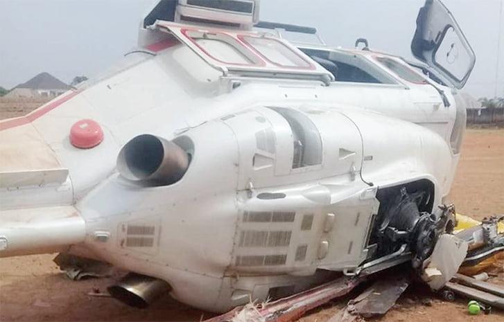 AIB Reveals Cause Of Osinbajo Helicopter Crash In Kogi
