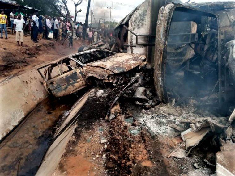 Buhari Mourns Victims Of Lokoja Tanker Explosion