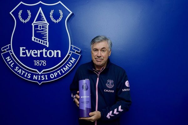 Ancelotti is Manager of the Month