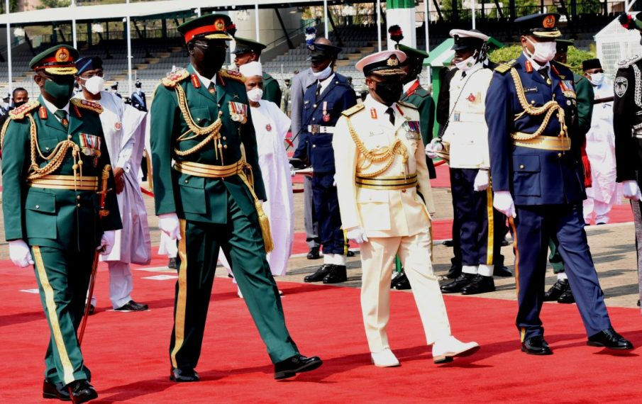 Insecurity: Nigeria in 'state of emergency', Buhari tells new service chiefs
