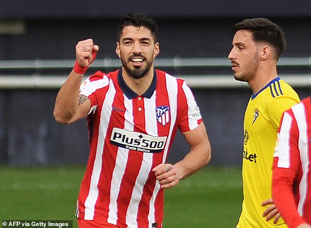 Suarez relishes free kick responsibility with Atletico