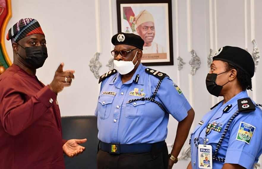 We'll continue to work with police, other security agencies to secure Oyo —  Makinde -