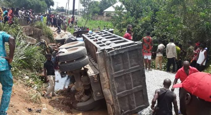 Truck crushes 10 women to death in Imo market + Photos