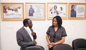 Bishop Kukah pays condolence visit to late Yinka Odumakin's widow -