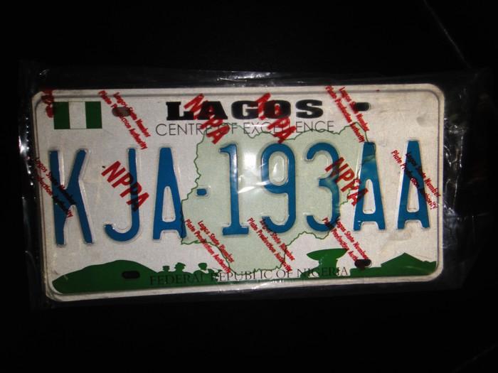 Fake Number Plates
